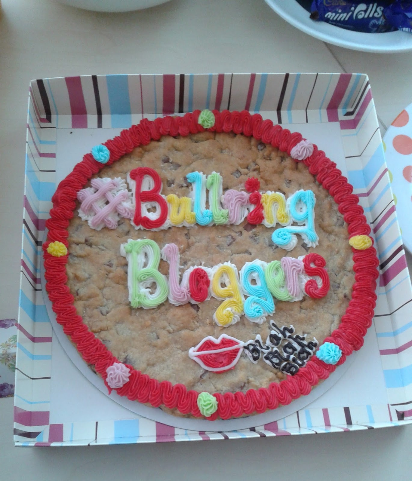 Bullring Bloggers Millie's Cookie