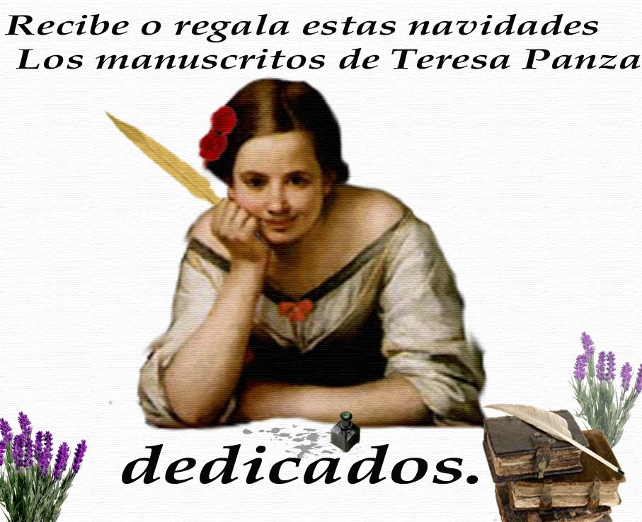 Recibe o regala Los manuscritos de Teresa Panza