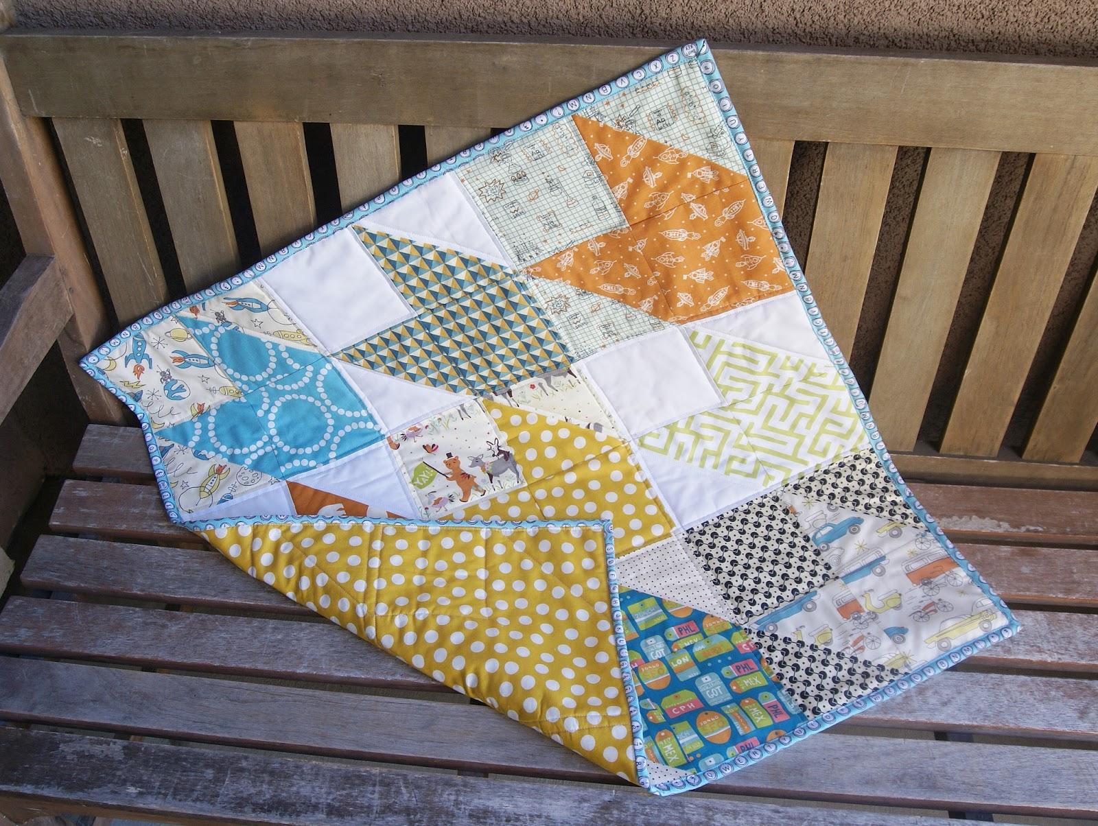 Fabric Mutt: Chevron Baby Quilt : chevron baby quilt - Adamdwight.com