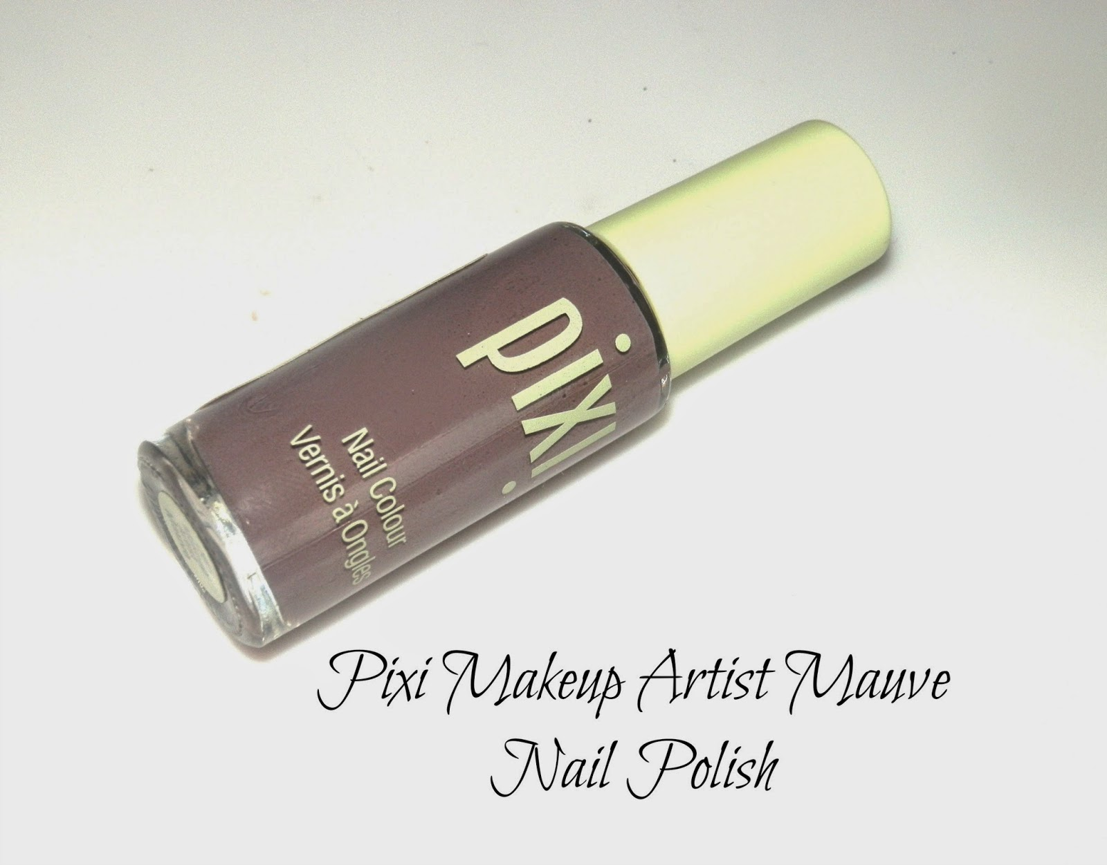 Pixi Makeup Artist Mauve Nail Polish Swatches
