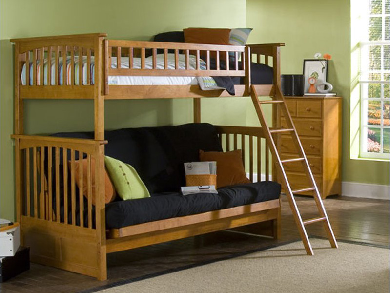 Futon bunks on pinterest futon bunk bed futons and twin Couch bunk bed ikea