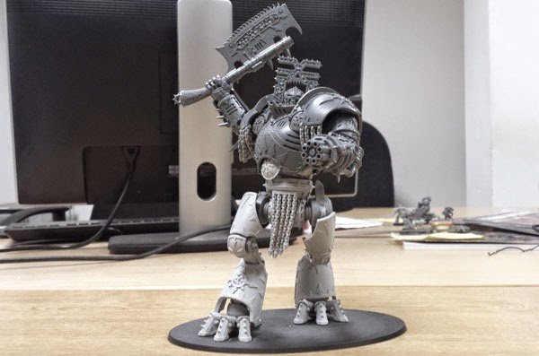 New Daemon Engine and Sigismund, and Warlord Titan Info.