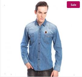 model kemeja jeans original murah kemeja jeans pria yang kami
