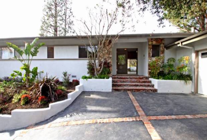 Modern homes los angeles mid century modern open house for Mid century post and beam house plans