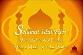 Ucapan Selamat Hari Raya Idul Fitri 2014 1435h