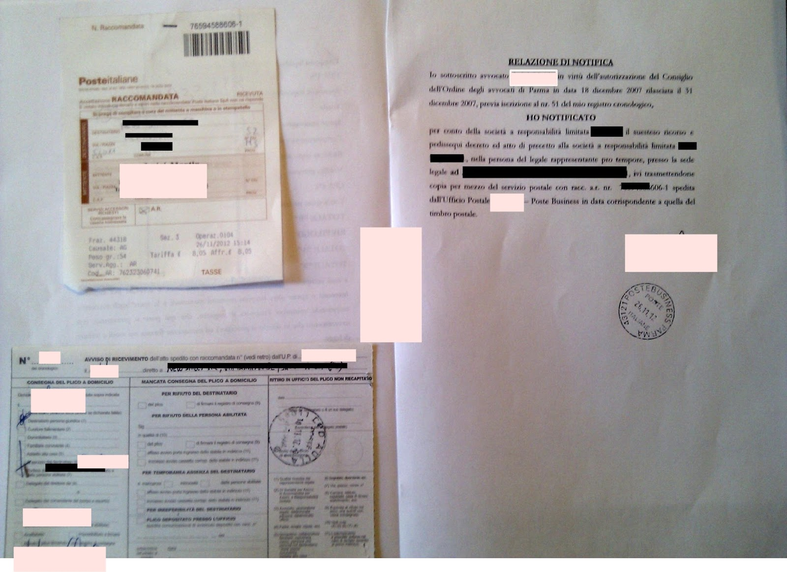 Ufficio Notifiche A Roma : La notifica in proprio eseguita dall avvocato ai sensi della l n