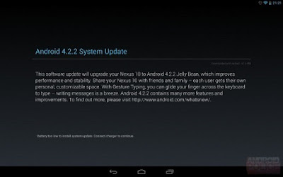 Android Jelly Bean 4.2.2 Already Released