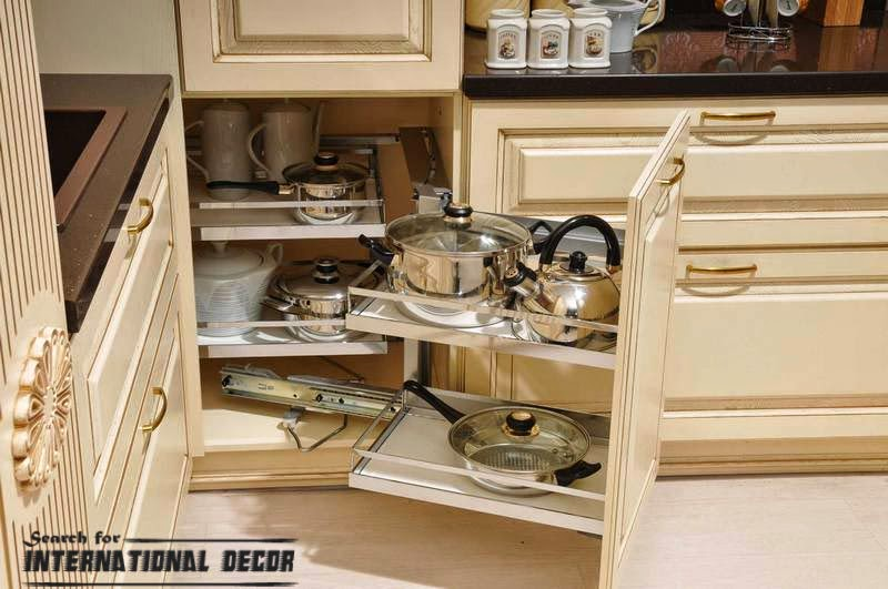 pull out drawers,pull out shelves, Drawer system for the kitchen
