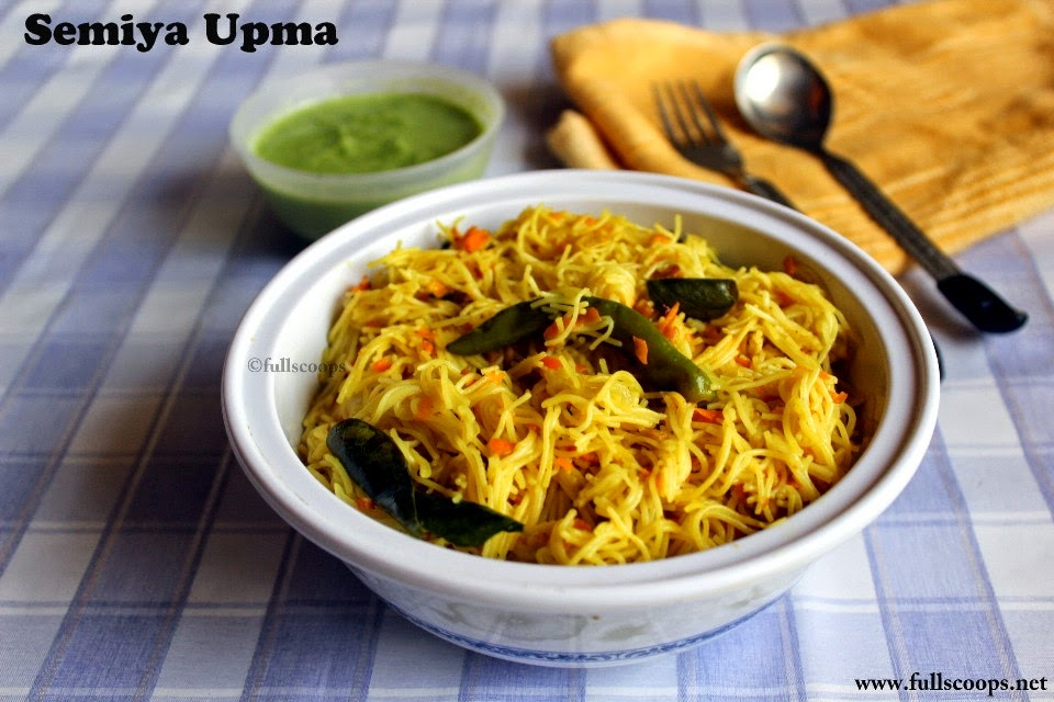 Semiya Upma
