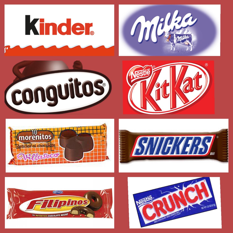 MARCAS DE NUESTROS CHOCOLATES