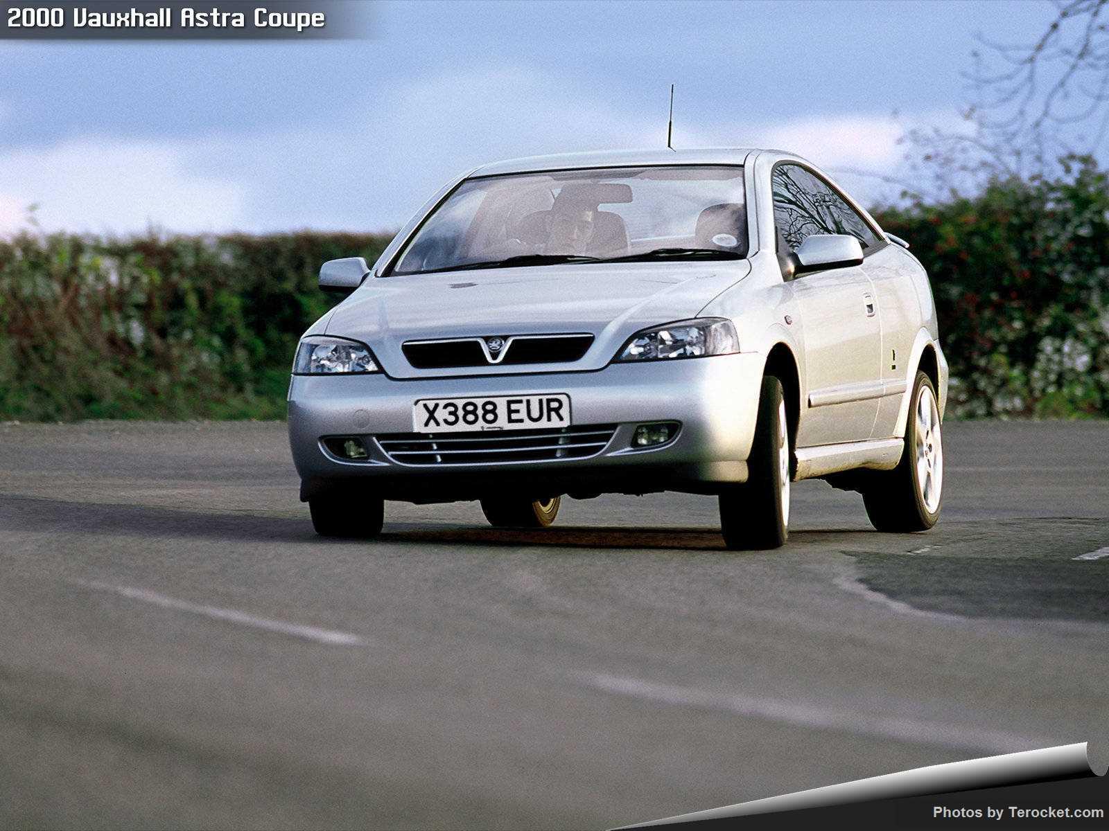 Hình ảnh xe ô tô Vauxhall Astra Coupe 2000 & nội ngoại thất