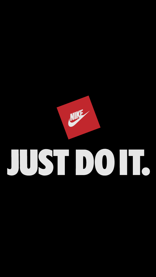 Nike Just Do It Black