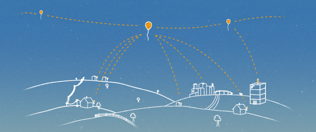 Google X Announces Project Loon Provides Internet Access Using Hot Air Balloons