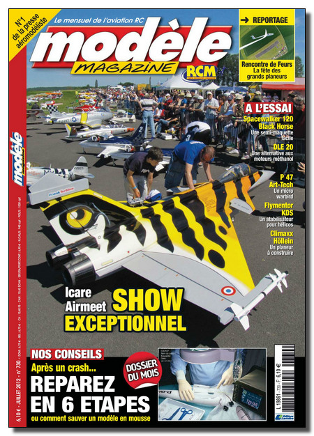 Modèle Magazine N°730 - Juillet 2012 [Lien Direct]