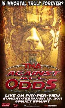 TNA Against All Odds PPV