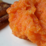 Purée de carottes (et pommes de terre)