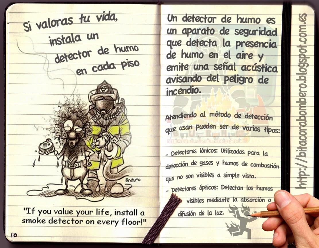 Bit cora de bombero burnout si valoras tu vida instala - Detectores de humos ...