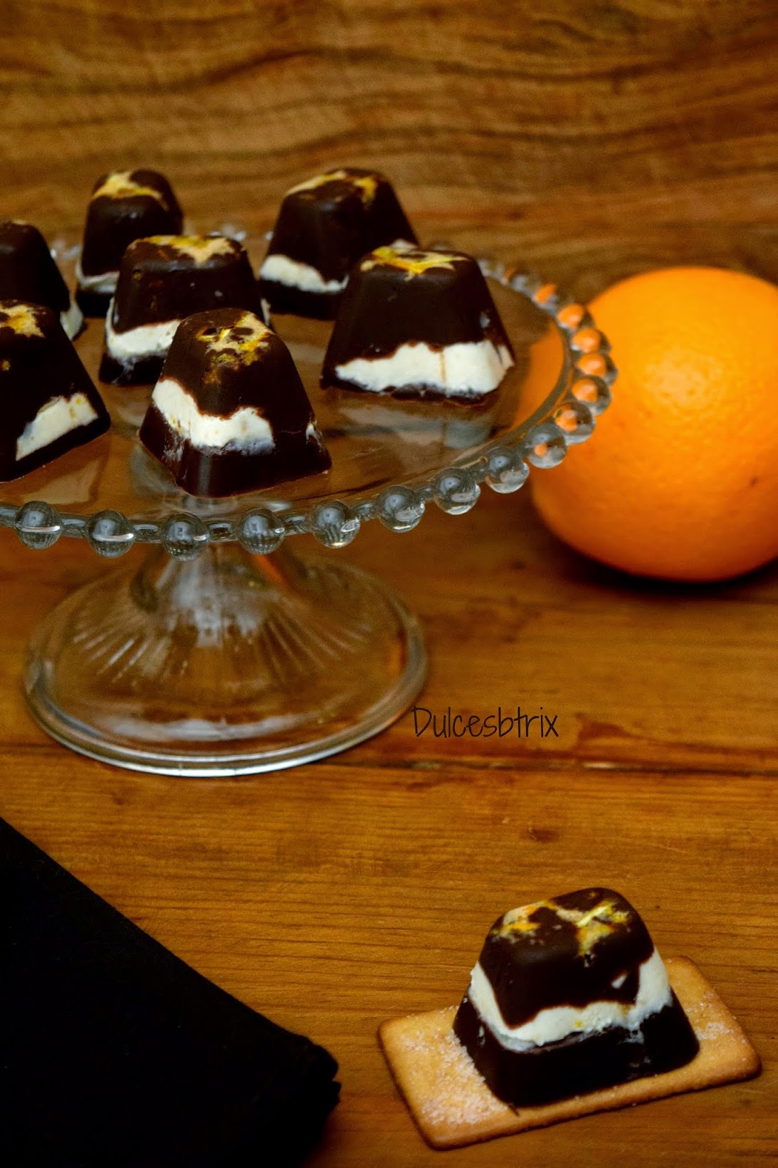 Bombones de Naranja y canela