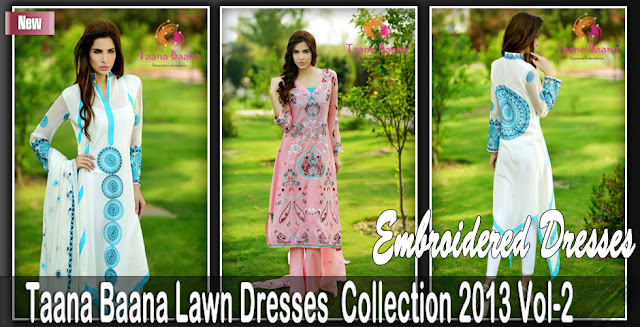 Lawn Dresses | Taana Baana Summer Collection 2013 Vol-2