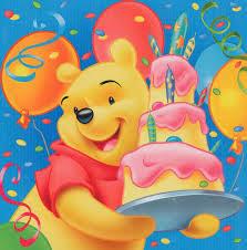 Gambar Kartu Ultah Lucu Winnie The Pooh Ucapan Happy Birthday Terbaru