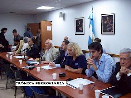 LO QUE SE DIJO EN LA CHARLA DEBATE SOBRE EL TRANSPORTE FERROVIARIO