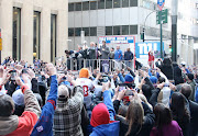 To see the rest of our images from the Giants ticker tape parade, .