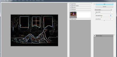 Manipulasi Photoshop yang Aneh Light Painting