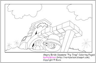 Angry Birds Coloring Pages Children Well Actually The Character Is Taken From A Video Game By Apple Which Firstly Released In Then Market Responds It