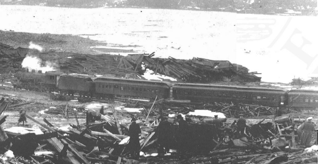 The Halifax Explosion Occurred 20 Minutes After A Norwegian Ship Imo And French Mont Blanc Collided In Harbour