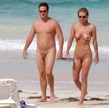 Guys penis at beach st maarten