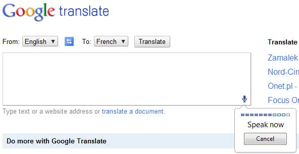 Google translate english - be