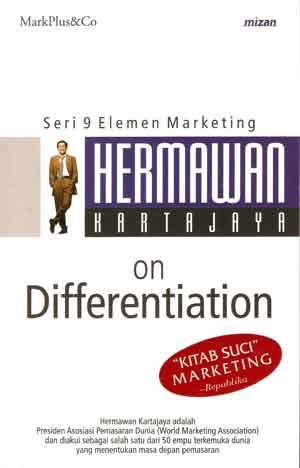 EBook on Differentiation Seri 9 Elemen Marketing by Hermawan Kartajaya