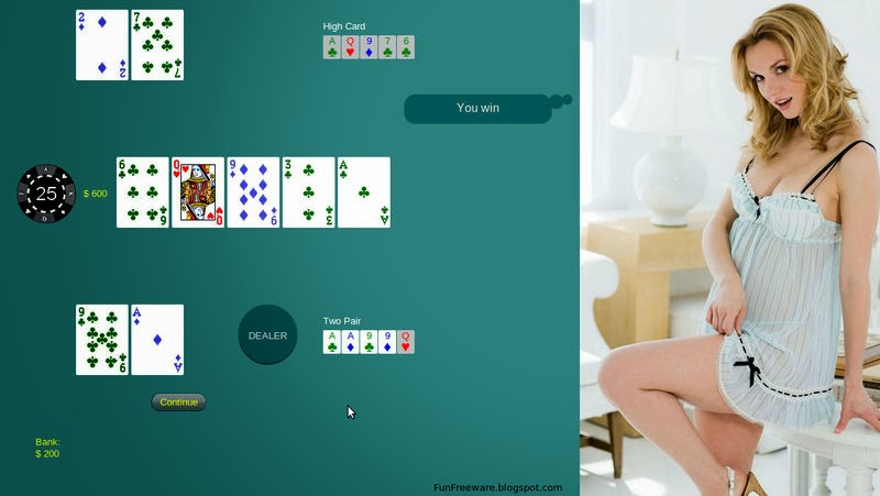 strip blackjack online game