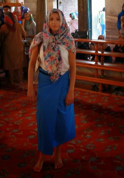 vestir para entrar mezquita