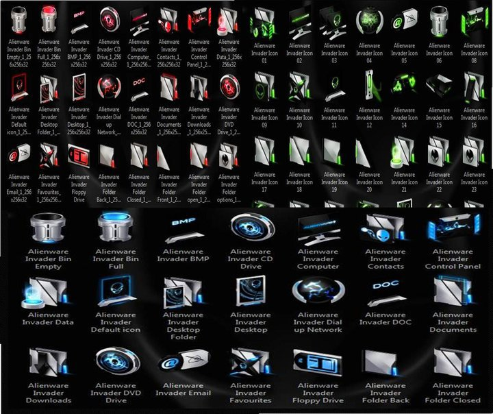 Alienware Icons Download Alienware Invader Icon Pack