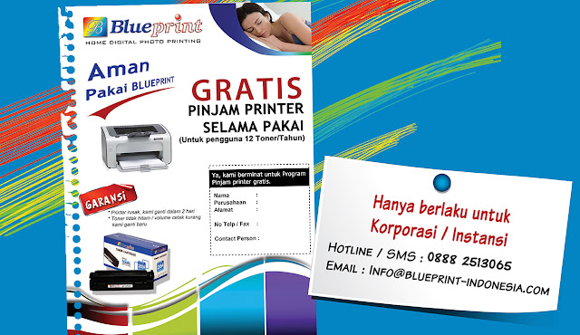 Gratis Pinjam Printer