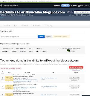 Cara Terbaru Cek Backlink Blog Anda
