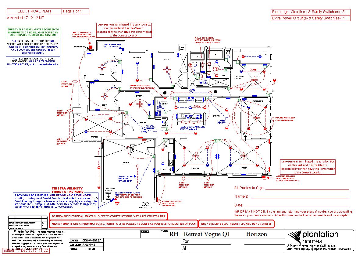 Going Coastal Electrical Plans E Plan