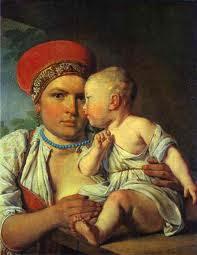Alexei Veniatinov. Nurse. Las Nodrizas. Historia y Museo de las Nodrizas