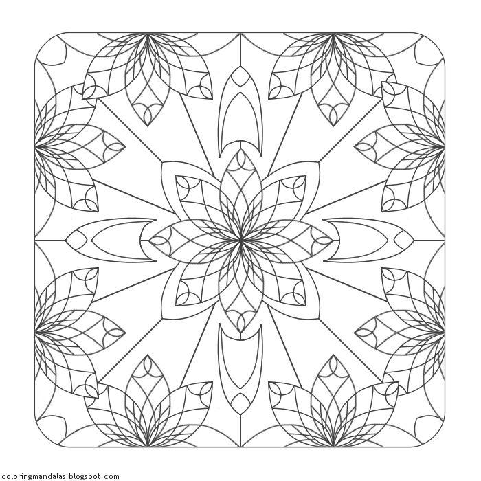 Coloring Mandalas 13 Beryl
