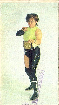Neftaly - Female Mexican Wrestlers