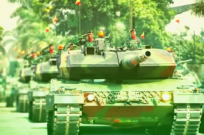 Jerman Segera Kirim 52 tank Leopard Pesanan Republik Indonesia