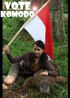 Komodo Dikalahkan Kadal Air Malaysia?