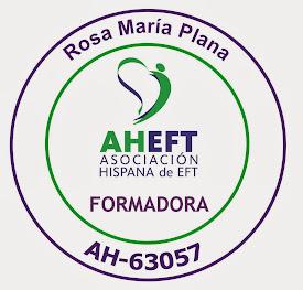 EFT Adaptada Ericksoniana  Facilitadora Avanzada y Formadora Oficial.