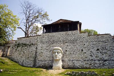 Kalasa Ciudadela ruinas, Albania