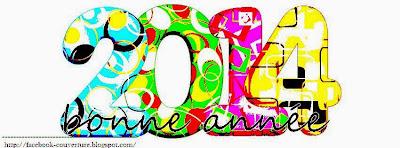 Belle couverture facebook bonne année 2014