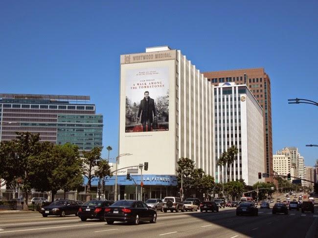 Giant Walk Among the Tombstones movie billboard