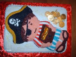 Pirate birthday cake decorating ideas