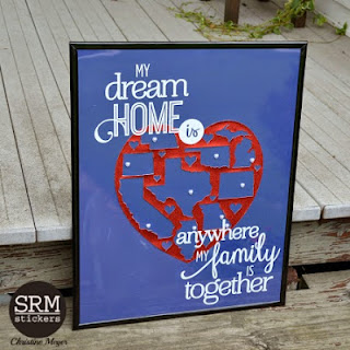 SRM Stickers Blog - Vinyl HomeSRM Stickers Blog - Vinyl Home Decor by Christine - #vinyl #matte #glitter #homedecor #transfertape #silhouette Decor by Christine - #vinyl #matte #glitter #homedecor #transfertape