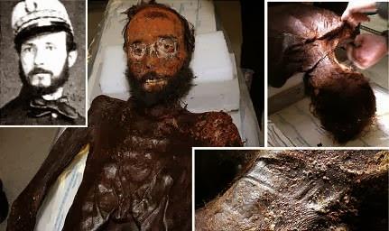 Momificación de Juan Prim y Prats